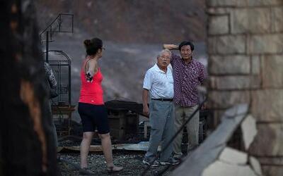 El desolador panorama que han dejado las llamas en California