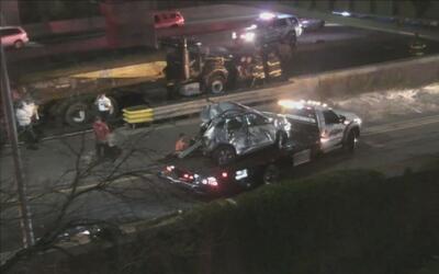 Accidente en el Long Island Expressway deja a al menos tres muertos y nu...
