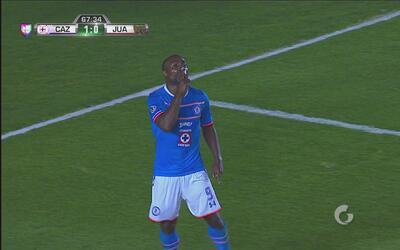 Joffre Guerrón hace pitar a La Máquina gol a base de riñones