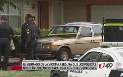 Misterio por muerte de paciente mental a manos de policías
