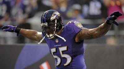 Los Ravens mantienen a uno de sus mejores cazamariscales (AP-NFL).