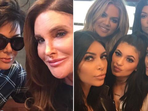 ¡Toda la familia Kardashian se reunió!