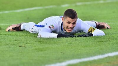 Mauro Icardi no pudo marcar de visita.