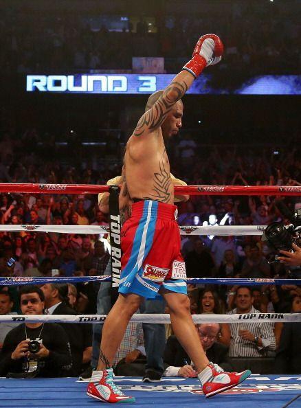 Miguel cotto volvió al ring después de 10 meses y lo hizo en gran forma.