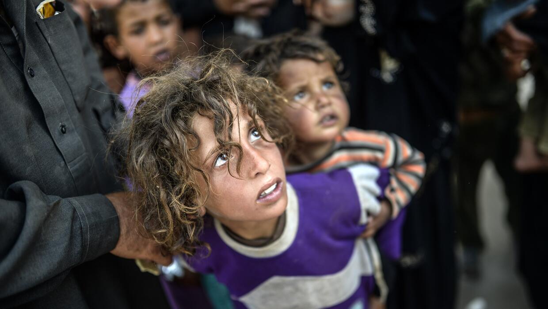 Los niños son las principales víctimas de la guerra en Siria.