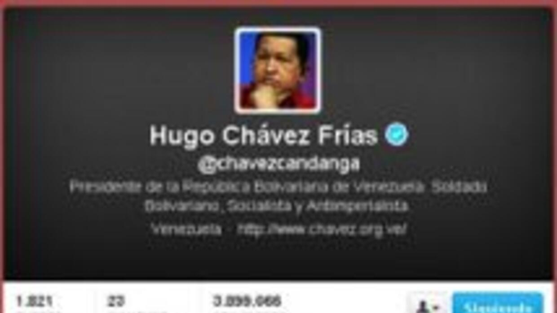 Mientras el presidente venezolano Hugo Chávez convalece, su popular cuen...