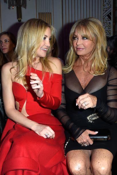 Kate Hudson y Goldie Hawn no pararon de intercambiar comentarios acerca...
