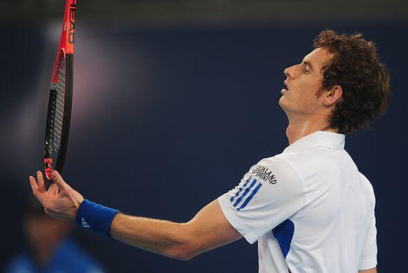Murray no pudo vencer al veterano  Ljubicic y quedó fuera del tor...
