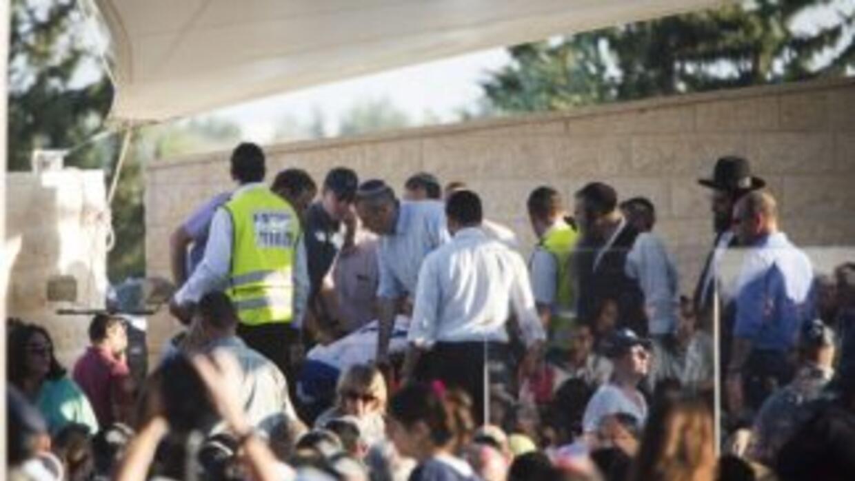 Soldados israelíes hallaron los cuerpos de los tres adolescentes desapar...