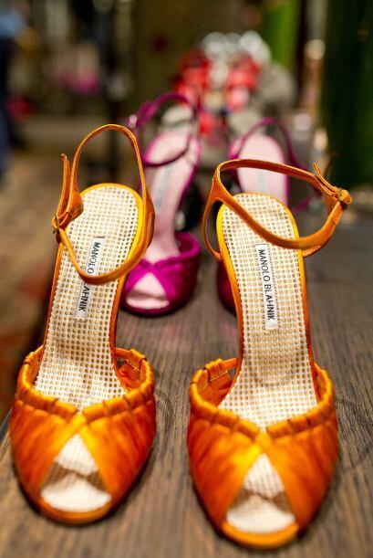 Para la primavera o verano nada mejor que unas zapatillas en color naran...