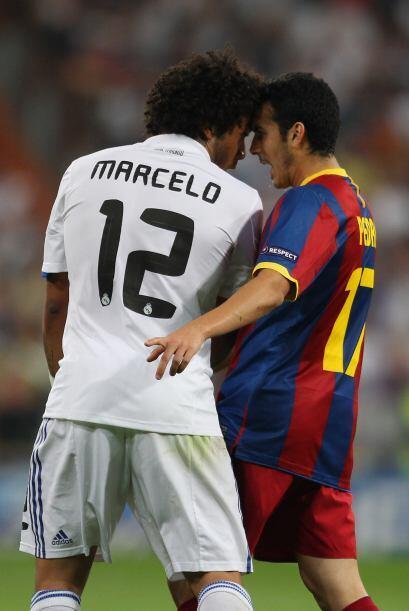 Otra más de las muchas pequeñas peleas personales. Marcelo y Pedro cara...