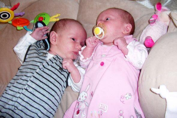 Los gemelos o mellizos pueden desarrollarse naturalmente en cualquier mu...