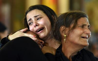 El pasado mes de abril hubo otro ataque contra cristianos coptos cerca d...