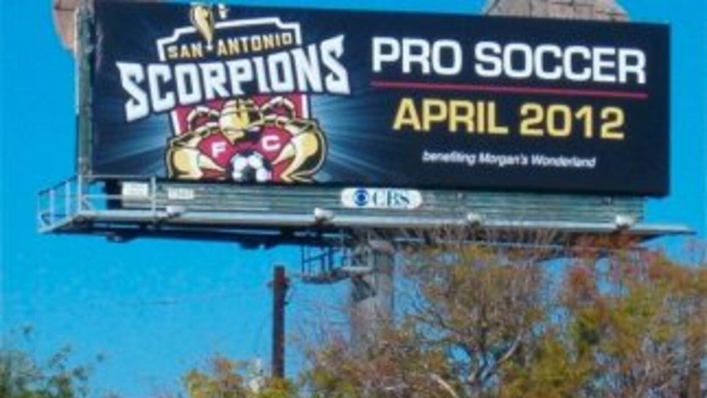 LosSan Antonio Scorpions comenzarán a jugar en el 2012 en la North Amer...
