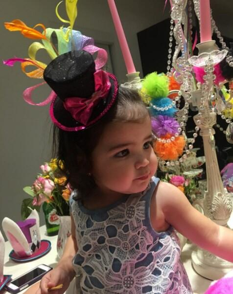 Baby Giulietta hija de Ana Patricia Pequeños Gigantes USA