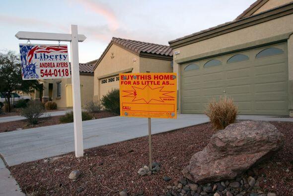 El 'boom' inmobiliario de mediados de década llegó a su fin en 2007 cuan...