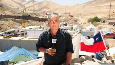 Nuestro corresponsal Ricardo Arambarri comenzó a trabajar en Primer Impa...