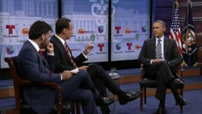 Barack Obama respondió a las dudas de la comunidad hispana sobre la nuev...