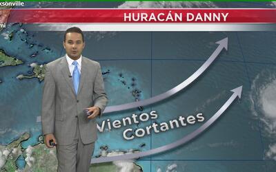 Huracán Danny no representa peligro