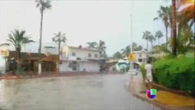 Alerta en México con por la tormenta tropical 'Sonia'
