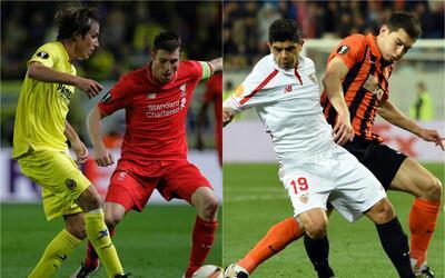 Duelos rumbo a la final de la Liga Europa