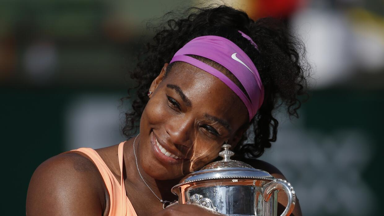 Williams ganó su tercer Roland Garros.