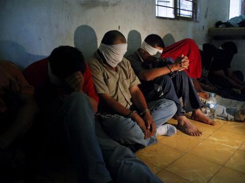 Durante 2010 se registraron 1,847 secuestros en México y en 136 d...