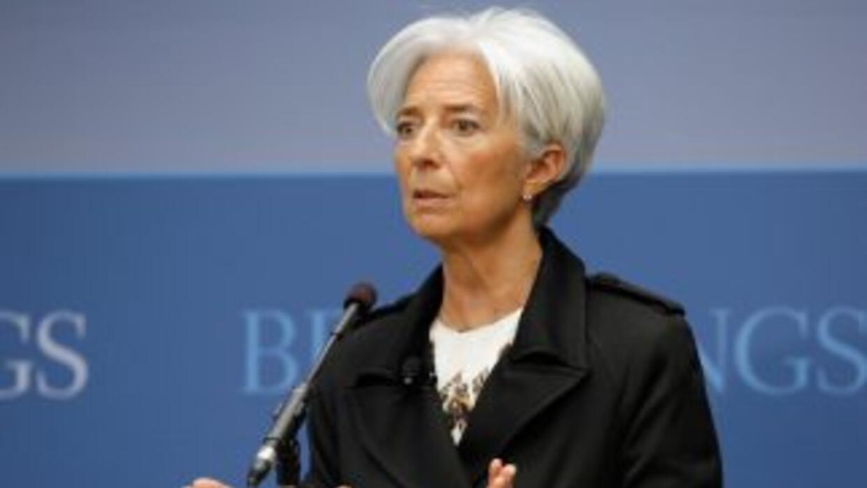 """Lagarde reiteró """"el gran respeto que siente por el pueblo griego"""", dijo..."""