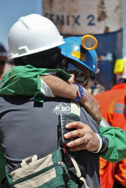 Omar Reygadas, el rescatado 17, tiene 56 y una experiencia de 30 años tr...