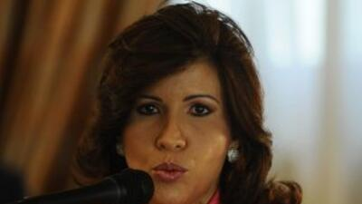 La primera dama dominicana y candidata a la vicepresidencia, Margarita C...
