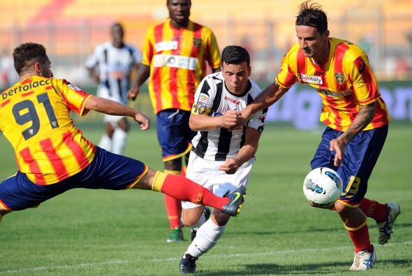 Udinese, otro club del que se esperan cosas importantes, chocaba ante el...