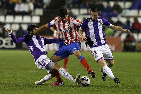 Entre otros partidos, el Atlético de Madrid visitó al Vall...