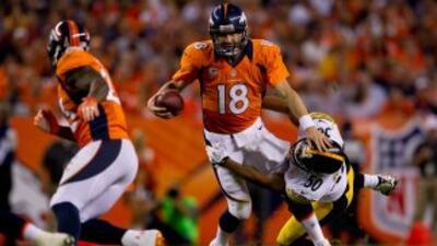 Peyton Manning se vio como en sus mejores tiempos y doblegó a la férrea...