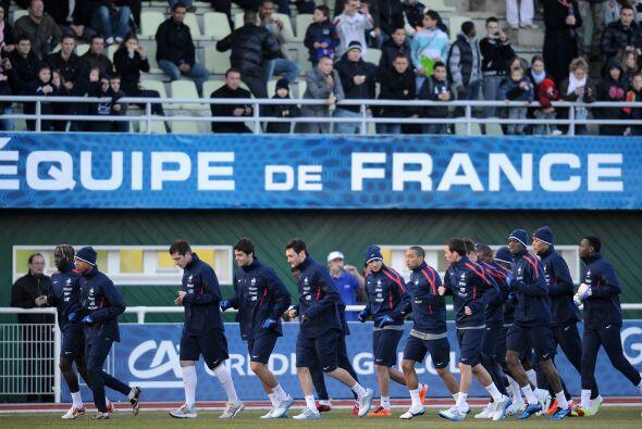 Las selecciones de Francia y Brasil se miden este miércoles en el...