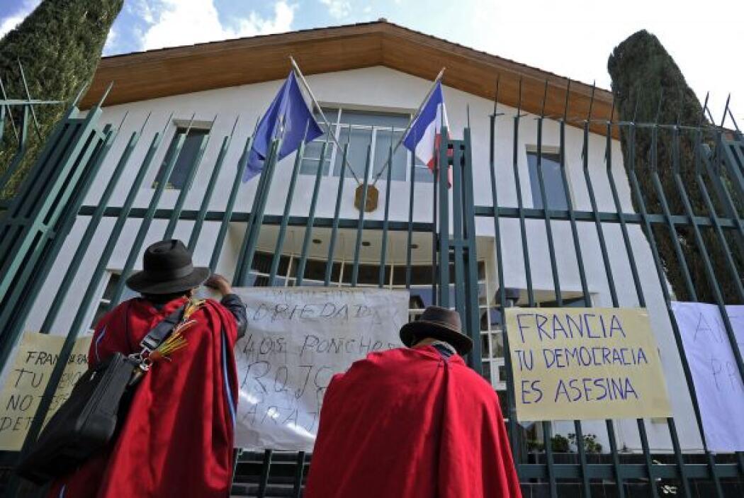 No se pudo confirmar si dentro de las oficinas diplomáticas se encontrab...