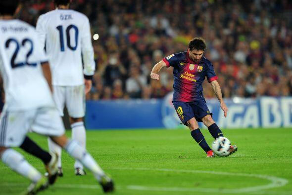 El atacante argentino volvió a tener un partido de épicas...