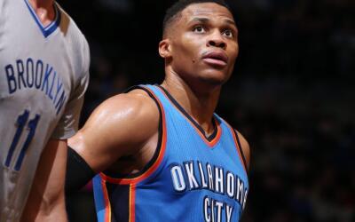 Westbrook atinó sólo seis de sus 18 disparos de campo.