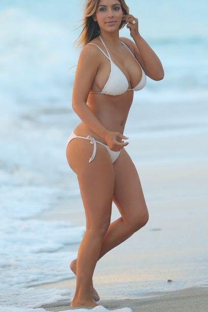 La figura de Kim Kardashian es una de las más cuestionadas. Aquí los vid...