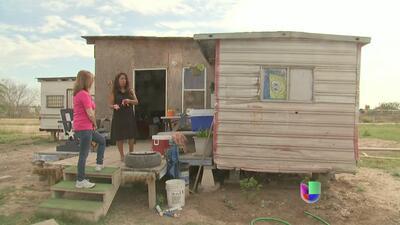 Colonias, tierra de nadie en la frontera con México