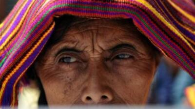 Una trabajadora guatemalteca.