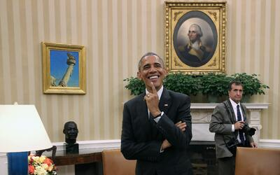Siempre a la sombra de Barack Obama, ahora Pete Souza se ha hecho famoso...