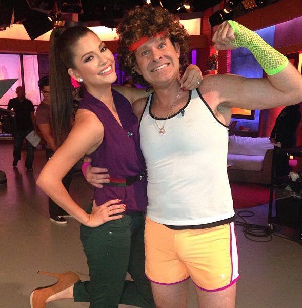 """""""El nuevo entrenador de aerobics en @DespiertaAmericaTv Simon Ricar..."""