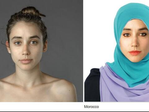 Esther Honng hizo modificar su rostro según la belleza de diferen...