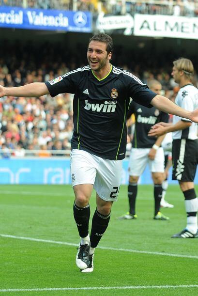 Gonzalo Higuaín  Gonzalo 'pipita' Higuaín volvió con todo de su lesión....