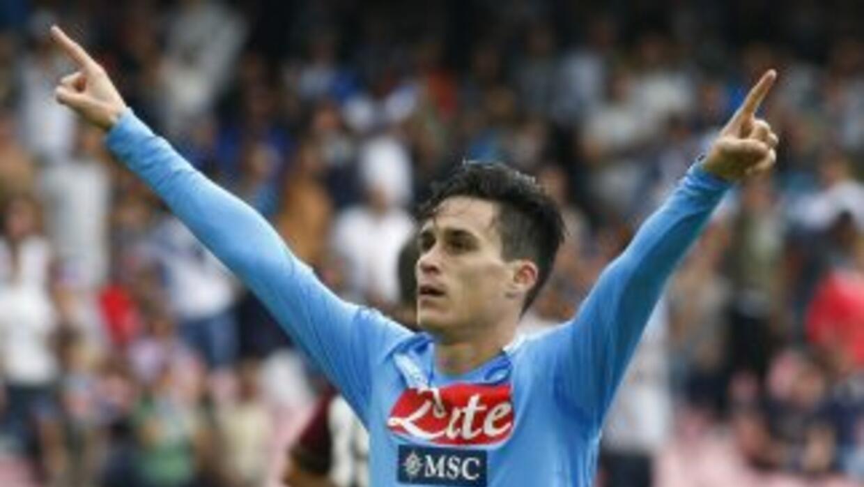 Callejón se hizo presente en el marcador para el triunfo napolitano.