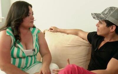 Mónica aceptó el reto de Alejandro Chabán, y recuperar su peso ideal