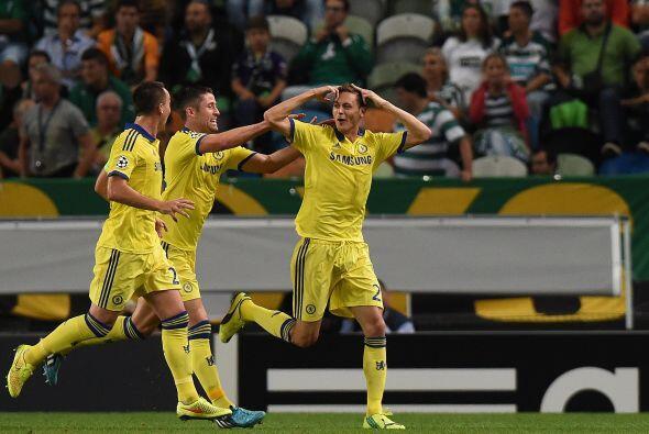 Matic anotó el gol del triunfo que deja a Chelsea como líd...
