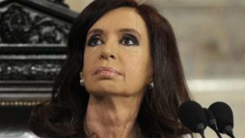 La presidenta de Argentina, Cristina Fernández viuda de Kirchner.