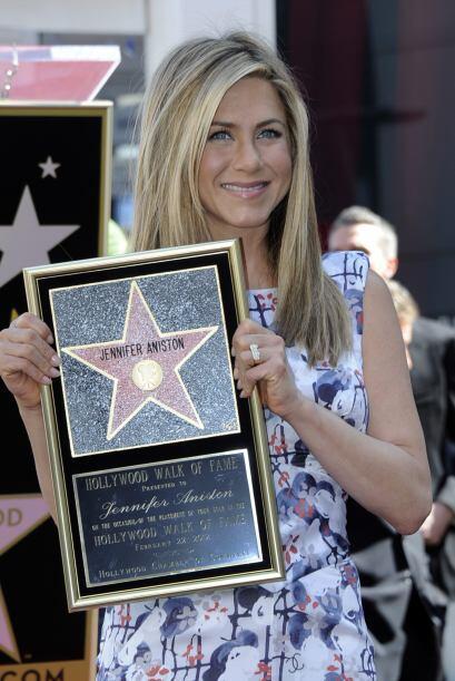 34.- En 2012 recibió su estrella en el Paseo de la Fama, se la ti...