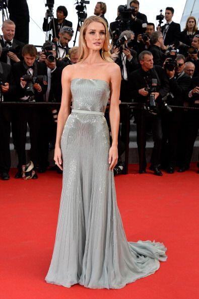 La modelo inglesa Rosie Huntington-Whiteley, reconocida por su maravillo...